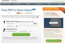 Free-PdfToWord:免费PDF转换WORD工具:www.free-pdftoword.com