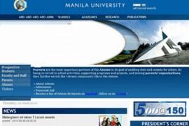 ADMU:菲律宾雅典耀大学:www.admu.edu.ph