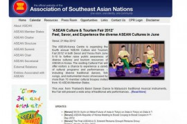 Aseansec:东南亚国家联盟官方网站:www.aseansec.org