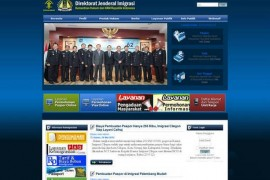 Imigrasi.Go.ID:印度尼西亚移民局官方网站:www.imigrasi.go.id