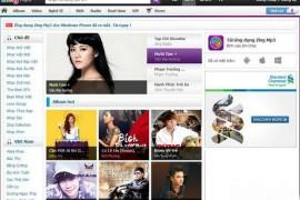 Mp3.zing.vn:越南音乐门户网:mp3.zing.vn