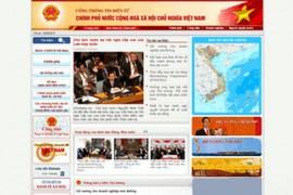 Chinhphu:越南政府官方网站:www.chinhphu.vn