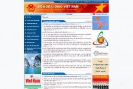 MOFA:越南国防部官方网站:www.mofa.gov.vn