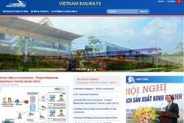 VietnamRailways 越南铁路运输局:www.vr.com.vn