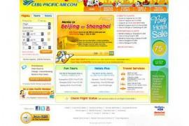 Cebupacificair:菲律宾宿务太平洋航空:www.cebupacificair.com