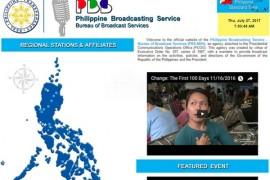 PBS|菲律宾国家广播电台:pbs.gov.ph