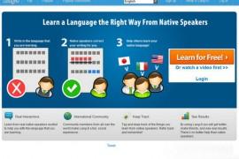 Lang-8:多国语言学习交流平台:lang-8.com