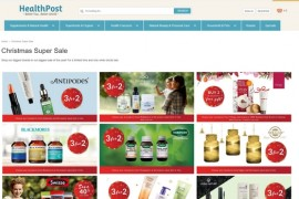 HealthPost|新西兰平价保健品购物网:www.healthpost.co.nz