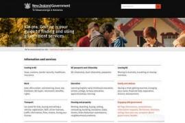 Govt:新西兰政府信息公开网:www.govt.nz