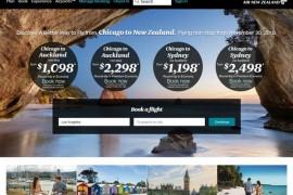 AirNewZealand|新西兰航空公司:www.airnewzealand.com