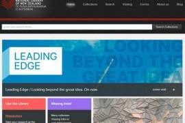 新西兰国家图书馆官网:www.natlib.govt.nz
