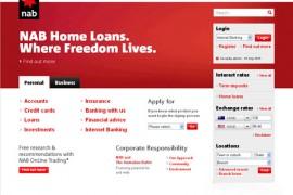 NAB:澳大利亚国民银行:www.nab.com.au