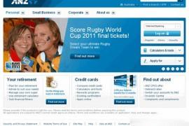 ANZ:澳新银行官方网站:www.anz.com