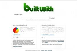 BuiltWith:在线网站SEO查询工具:www.builtwith.com