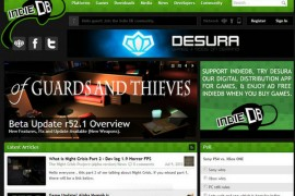 IndieDB:独立游戏开发发布平台:www.indiedb.com
