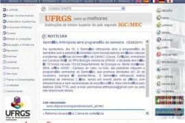 Ufrgs:巴西南大河洲联邦大学:www.ufrgs.br