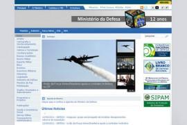 Defesa:巴西国防部官网:www.defesa.gov.br