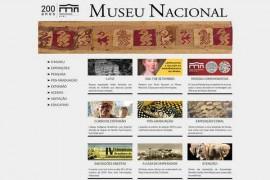 巴西自然历史国家博物馆:www.museunacional.ufrj.br