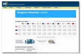 XE:在线捷汇实时货币转换平台:www.xe.com