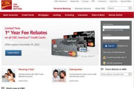 CIBC:加拿大帝国商业银行官网:www.cibc.com