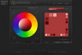 Paletton:在线配色方案设计网:paletton.com