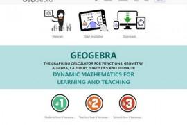 GeoGebra:免费数学互动教学工具:www.geogebra.org
