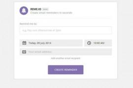 Reme.io:在线免费邮件提醒设置工具:www.reme.io