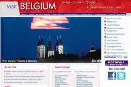 VisitBelgium:比利时旅游局官方网站:www.visitbelgium.com