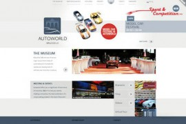 AuToWorld:汽车世界博物馆官方网站:www.autoworld.be