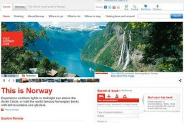 VisitNorway:挪威旅游局官方网站:www.visitnorway.com