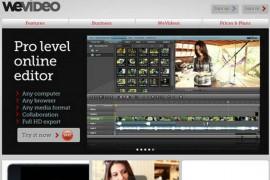 WeVideo:云端视频协作编辑平台:www.wevideo.com