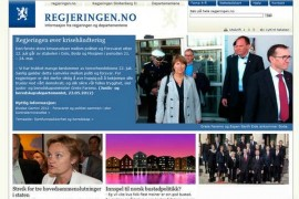 Regjeringen:挪威政府官方网站:www.regjeringen.no