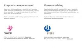 挪威Statoilhydro石油公司:www.equinor.com