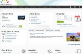 TimeAndDate:世界日期及时间网:www.timeanddate.com