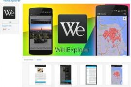 WikiExplorer:维基百科阅读器手机应用:www.animaonline.com
