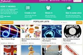 Listnerd:互联网热门话题清单分享网