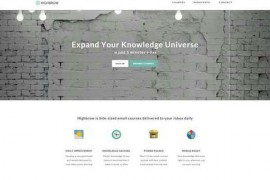 HighBrow:在线兴趣知识科普订阅网:gohighbrow.com