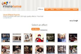 PhotoFunia:在线趣味图片制作工具:www.photofunia.com