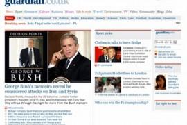 Guardian:英国卫报官网:www.guardian.co.uk