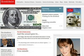 Economist:英国经济学人新闻周刊杂志:www.economist.com