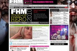 FHM:男人帮杂志:www.fhm.com