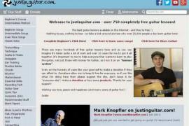 JustinGuitar:贾斯汀免费吉他教学网:www.justinguitar.com