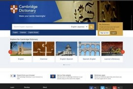CambridgeDictionary|剑桥英语词典查询网:dictionary.cambridge.org