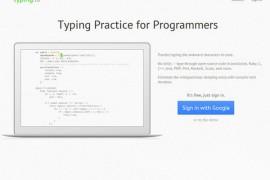 Typing.io:程序员代码打字练习工具:typing.io