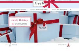 Fresh:法国馥蕾诗护肤品牌:www.fresh.com