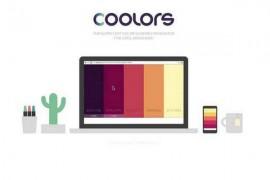 Coolors:在线快速配色生成工具:coolors.co
