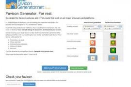 IconGenerator:在线网站图标生成器:realfavicongenerator.net