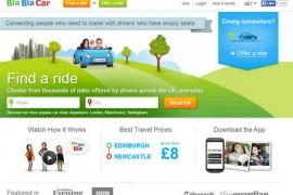 BlaBlaCar:欧洲长途拼车网:www.blablacar.com