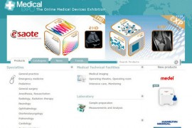 Medicalexpo:法国医疗器械采购平台:www.medicalexpo.com