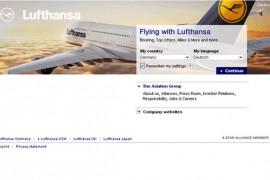 Lufthansa:德国汉莎航空:www.lufthansa.com